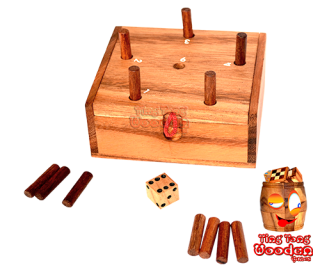 pig hole the box game why ever i or get the 6 game wooden game monkey pod Thailand