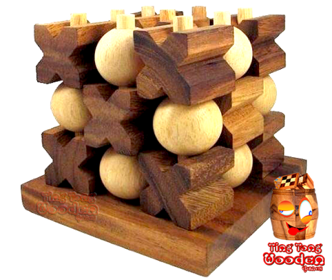 3d Tic Tac Toe Large Xo Strategy Game