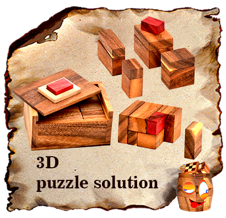 solution for 3d puzzle click here