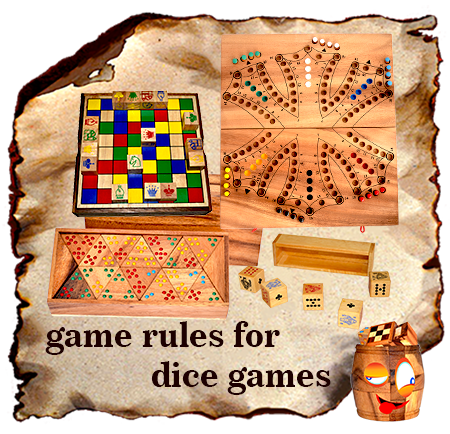 all game rules for dice wooden games and entertainment games