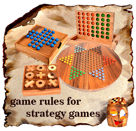 all game rules for strategy wooden games and entertainment games in wooden boxes