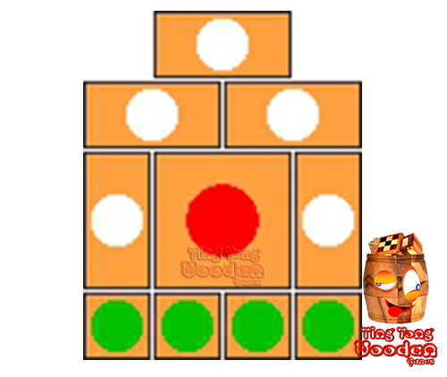 khun pan wooden game template for 10 steps to solve the wooden puzzle