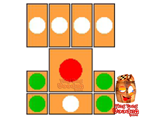 khun pan wooden game template for 16 steps to solve the wooden puzzle