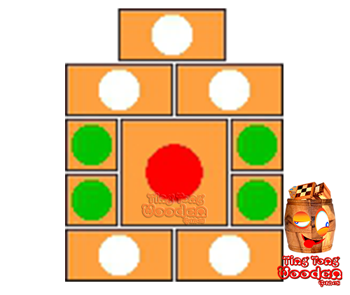 khun pan wooden game template for 29 steps to solve the wooden puzzle