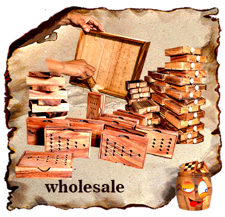 wholesale and factory prices wooden games and wooden puzzle chiang mai
