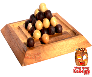 Pylos board xl last ball pyramid des pharao wooden game for 2 personen thai wooden games